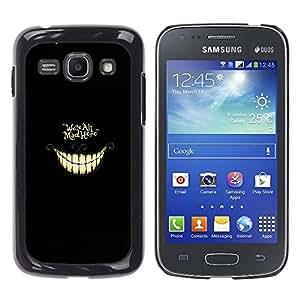 Stuss Case / Funda Carcasa protectora - Estamos todos enojados aquí - ALICE - Samsung Galaxy Ace 3