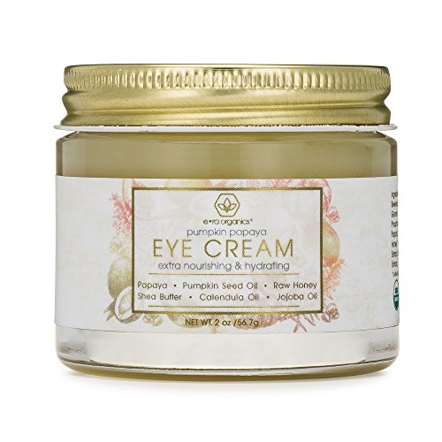 Rejuvenating Eye Cream (2oz.) Extra Nourishing & Moisturizing USDA Organic Anti Aging Eye Treatment Balm for Dark Circles, Under Eye Bags, Puffiness & Wrinkles with Jojoba Oil, Argan Oil & More