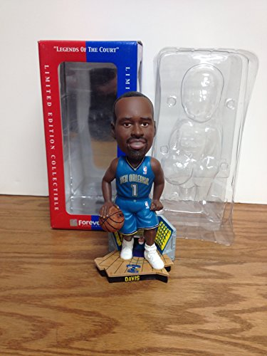 Davis Hornets Baron - Baron Davis New Orleans Hornets TEAL JERSEY NBA Bobble Bobblehead LIMITED EDITION