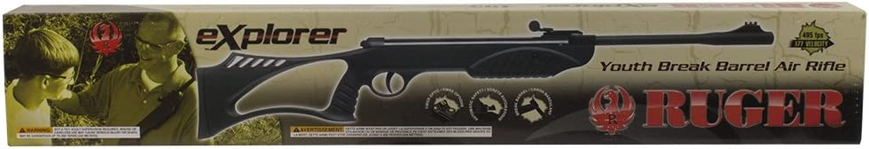 Ruger Explorer Youth Break Barrel .177 Caliber Pellet Gun Air Rifle