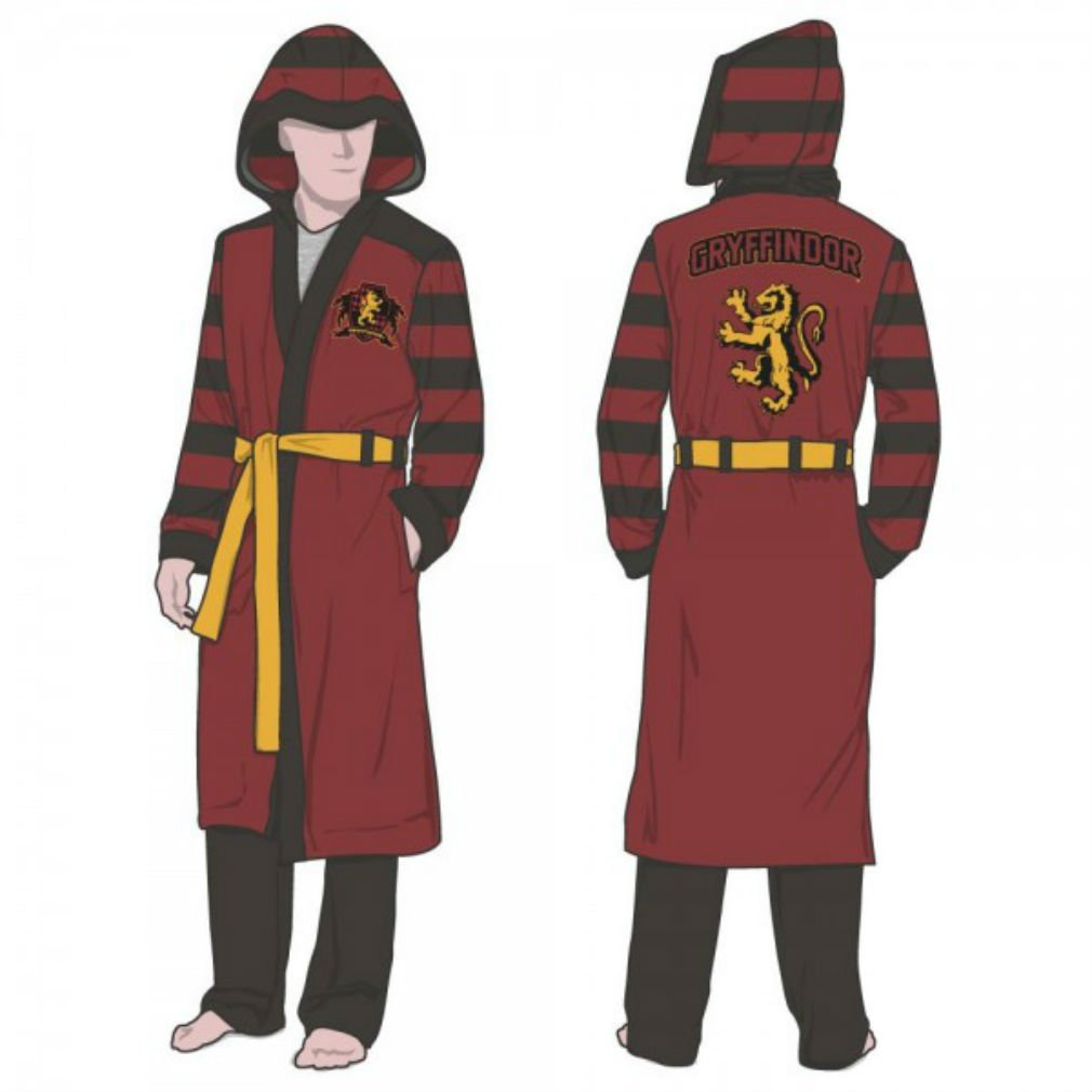Official Harry Potter Gryffindor Adult Size Hooded Robe