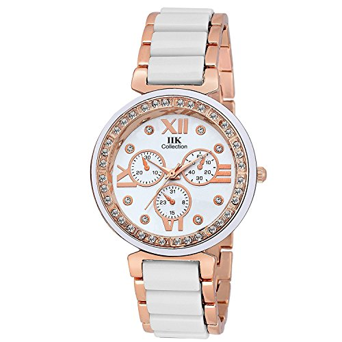 Iik Collection Analogue White Dial Watch for Women- IIK-1012W