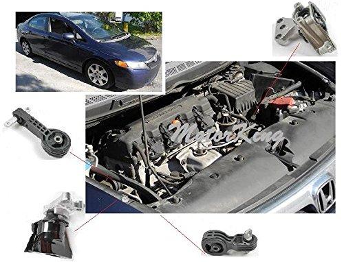 4530 50820sna033 06 11 honda front right engine motor for Honda civic motor mount