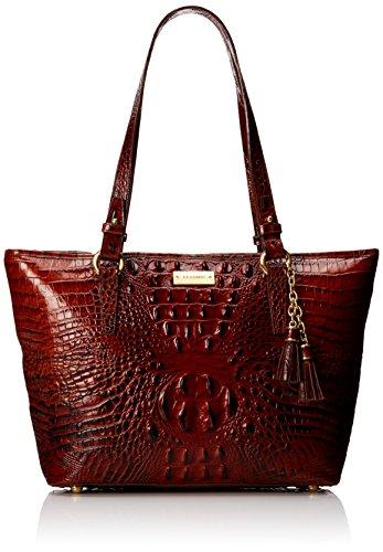 Brahmin Medium Asher Tote Bag, Pecan, One Size