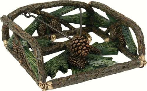 Rivers Edge Products Pine Cone Resin Napkin Holder (Pinecone Holder Napkin)