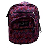 Hit the books this year with the classic and timeless Big Student by JanSport®. 600D Poly fabric for added durability. Front pocket with organizer to store electronics and accessories. Ergonomic S-curved shoulder straps provide a comfortable fit. Tw...