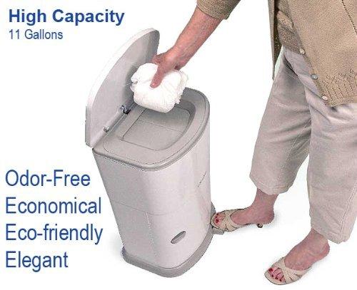 Janibell Akord Adult Diaper Pail - Odor Free - Model M330DA