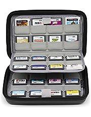 Sisma Etui de rangement universel pour 64 cartouches de jeux Nintendo 3DS DS Switch Sony Ps Vita et Cartes mémoire - noir SVG190402GC