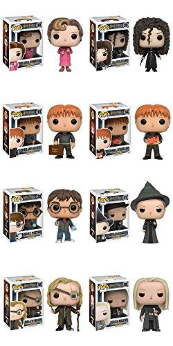 Pop!: Harry Potter - Harry Potter, Minerva McGonagall, Luciu
