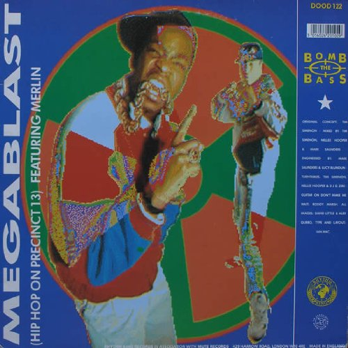 Bomb The Bass - Don't Make Me Wait / Megablast - Rhythm King Records - DOOD 122