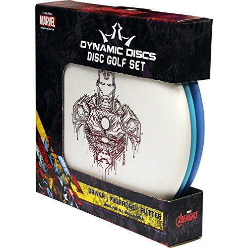 Dynamic Discs Disc Golf Marvel Prime 3 Disc Golf Starter Set - Prime Escape (Driver), Prime Truth (Midrange), Prime Judge (Putter) by Dynamic Discs
