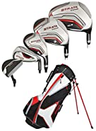 Callaway Strata Tour Complete Set, DR, 3W, 5W, 4H, 5H, 6I, 7I, 8I, 9I, PW, SW, Putter, Bag, 5 Head Covers