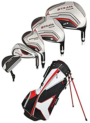 Callaway Men's Strata Tour Complete Golf Set, Prior Generation (18-Piece) by Callaway Golf