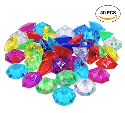 large acrylic gems - 9