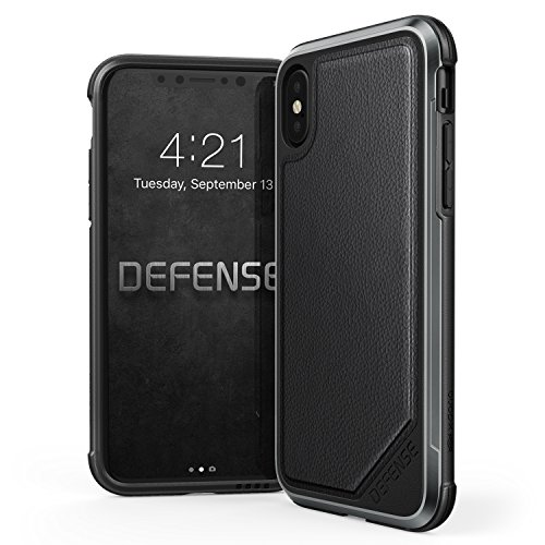 Cheap Cases iPhone X Case, X-Doria Defense Lux Series - Military Grade Drop Tested,..
