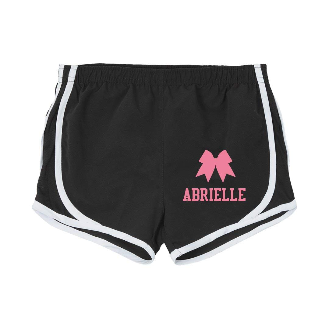 Youth Running Shorts Abrielle Girl Cheer Practice Shorts