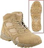 Tactical Boots Desert Tan 6'' Military Tactical Boots Deployment Combat Boot