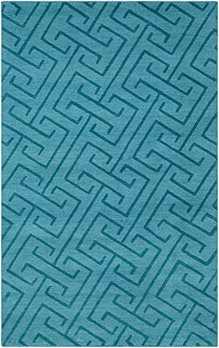 - Solid & Border Area Rug Rectangle 3'3
