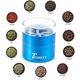 Grinders - Best Grinder for Spice and tobacco,4-Piece Herb weed Grinder with Pollen Catcher,Premium Grade Aluminum Alloy(2.5