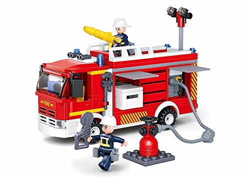 Sluban Firefighting Series Blocks Vehicle Bricks Toy for sale  Delivered anywhere in USA