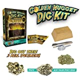 Discover with Dr. Cool Dig for Gold Science Kit – Dig Up Real Pyrite Nuggets (Fool's Gold)