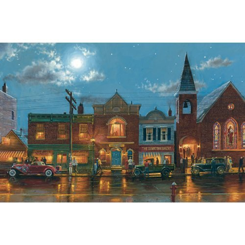 Evening Service - 1000pc Serendipity Jigsaw Puzzle