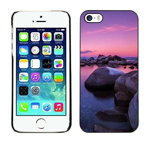 Premio Sottile Slim Cassa Custodia Case Cover Shell // F00001796 de plein air // Apple iPhone 5 5S 5G