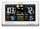home office layout La Crosse Technology 308-1414W Wireless Atomic Digital Color Forecast Station with Alerts, White