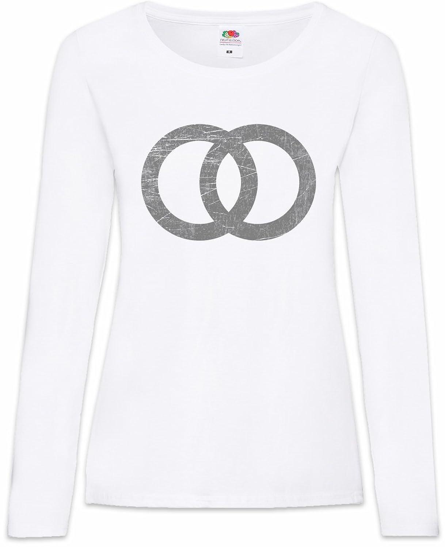 75e5e7df3c078b The Mermaid Conviction Wedding Symbol Damen Langarm T-Shirt Größen XS - 2XL  Kostenloser Versand
