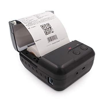 BAIYI Impresora térmica portátil Impresora Bluetooth Impresión ...