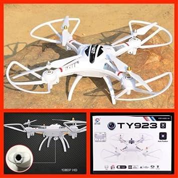 Quadcopter TY923 CAMARA HD GIGANTE 52 X 52 cm 2.4GHz 4 CHANNELS 6 ...