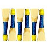 Bagpipe Chanter Reeds 6 Pcs Blue