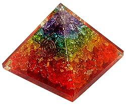 Orgonite Pyramids Crystal Chakra Energy Generator