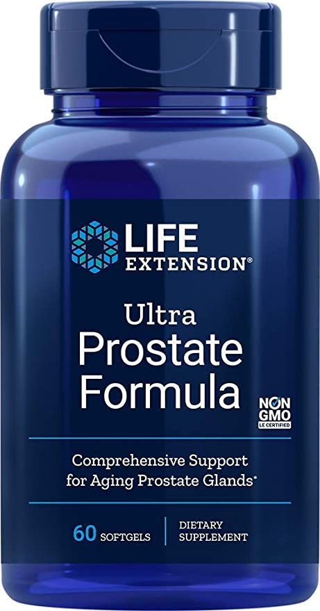 Life Extension Ultra Natural Prostate Softgels, 60 Count