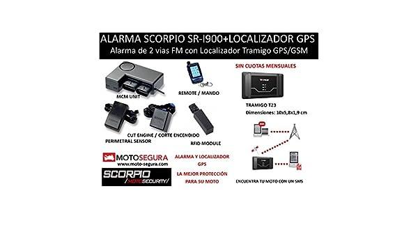 Alarma Scorpio SR-i900 RFID + Localizador GPS/GSM Tramigo ...
