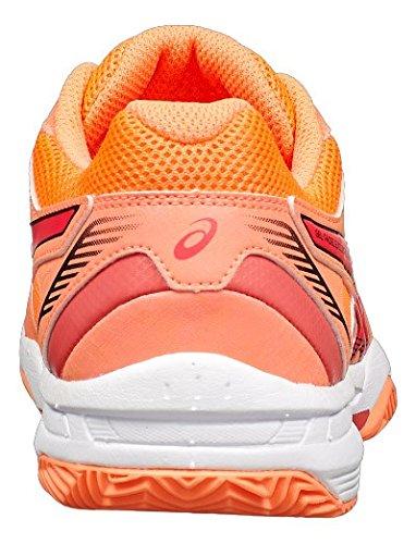 ASICS Gel Padel Exclusive 4SG Coral Rojo Blanco e565q 0619: Amazon.es: Deportes y aire libre