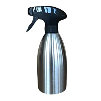 Compra Clevoers dispensador de Aceite en Spray, Botella de Aceite de 500 ML de Acero Inoxidable para Barbacoa, ensaladas, Cocina, Asar, freír en Amazon.es