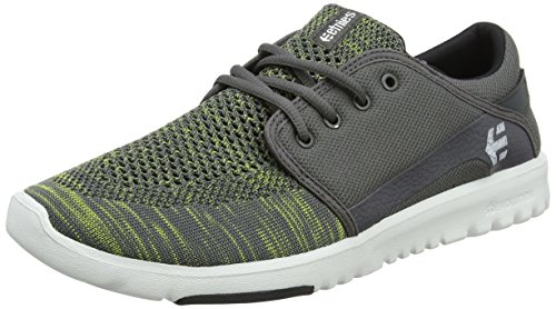 YB Men Grey US Shoe Skate Medium Green etnies Scout 9 SEwqdTSU