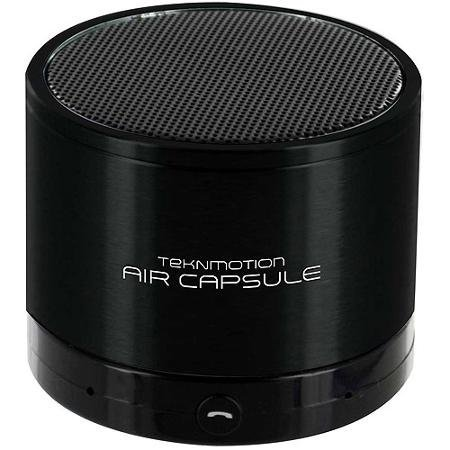 Teknmotion Air Capsule Bluetooth Speaker (Black)  TM-AIRCB