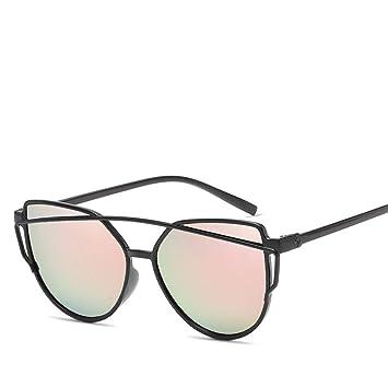 YSFU Gafas de sol Ojo De Gato Gafas De Sol De Doble Haz ...