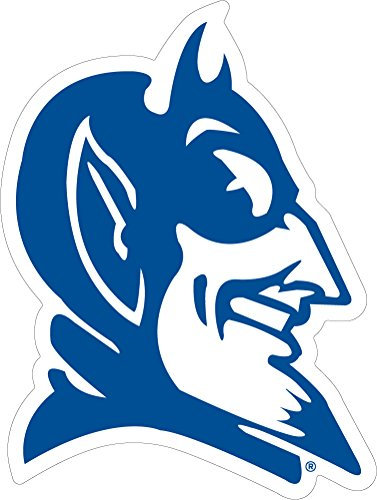 Duke Blue Devils Head Auto Vinyl Decal 3