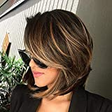 "Sunny 10"" Best Quality Bob Wigs for Women Short Hair 100% Real Human"