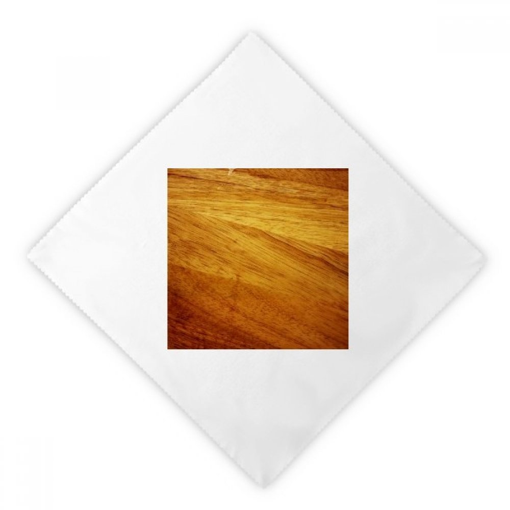 DIYthinker Wood Irregular Subtued Stripes Pattern Dinner Napkins Lunch White Reusable Cloth 2pcs