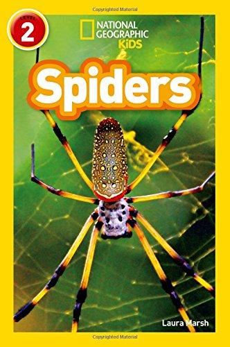 NAT GEO READERS - SPIDERS