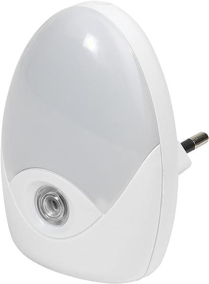 Vivanco LED Nachtlicht mit Dämmerungssensor, NL 3LED, weiß