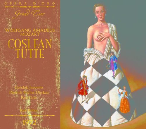 OPD 7013 Mozart-Cosí fan tutte: Italian-English Libretto (Opera d'Oro Grand Tier)