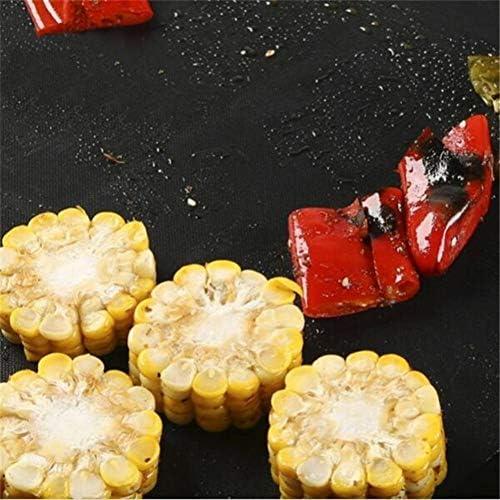 1 Pcs Réutilisable Non Stick BBQ Grill Tapis Cuisson Facile Propre Griller Feuille Frite Portable Pique-Nique en Plein Air Cuisson Barbecue Outils