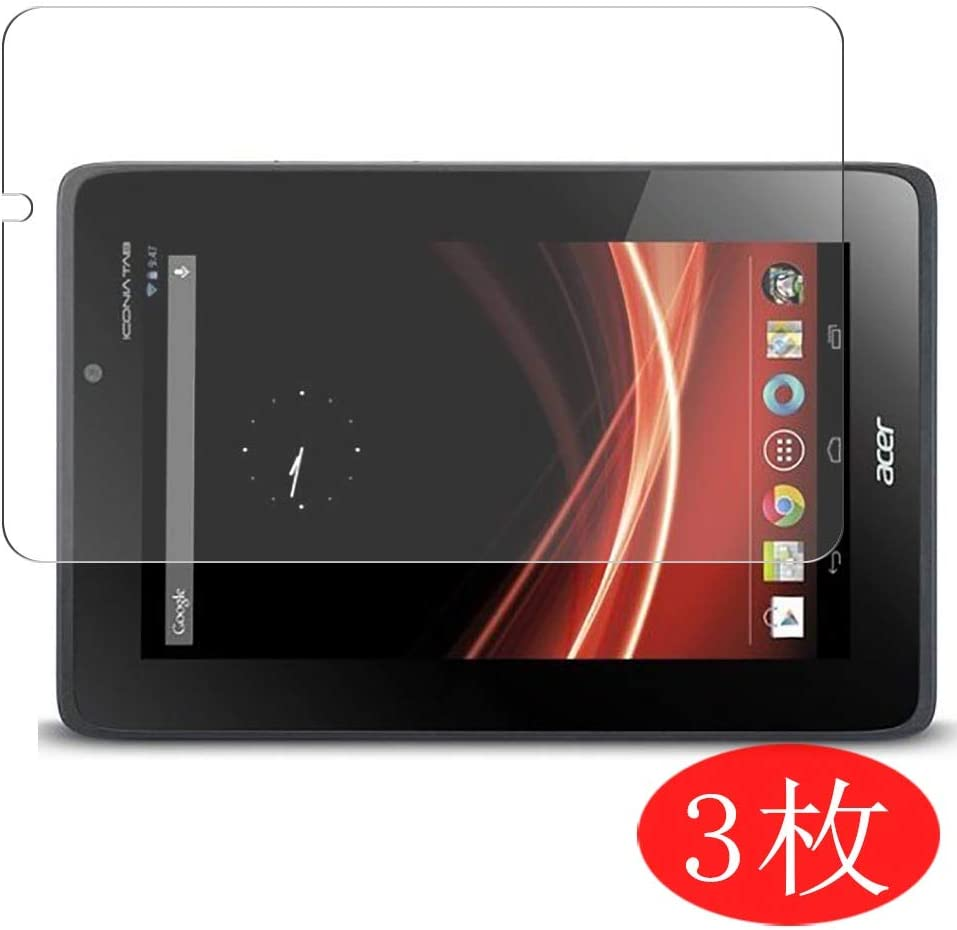 "【3 Pack】 Synvy Screen Protector for ACER iconia Tab A110 7"" TPU Flexible HD Film Protective Protectors [Not Tempered Glass]"