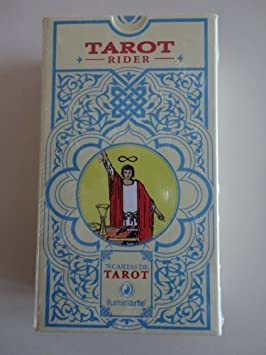 ILUMINARTE RIDER TAROT CARDS DECK MAZO CARTAS DE TAROT RIDER ...
