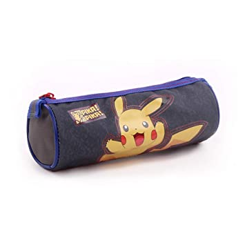 Pokemon Pika Pika - Estuche - 7 cm - gris: Amazon.es: Coche ...